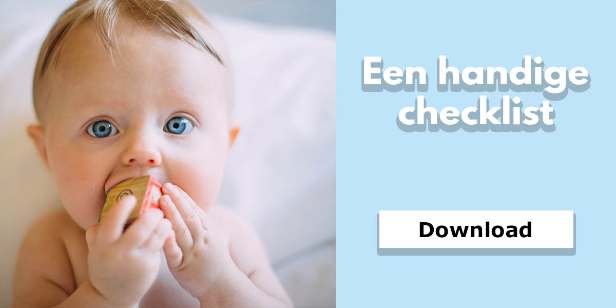 Download hier de geboortelijst checklist van De kinderplaneet.